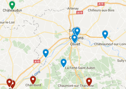 carte District clubs